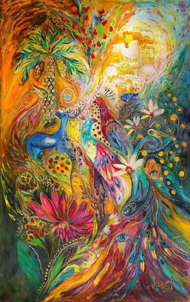 Wall Art - Painting - Remembering Yotvata by Elena Kotliarker