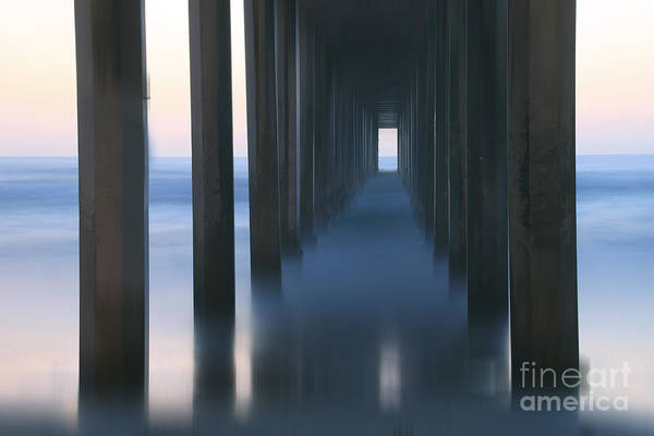 Scripps Pier Photograph - Reminisce by Marco Crupi