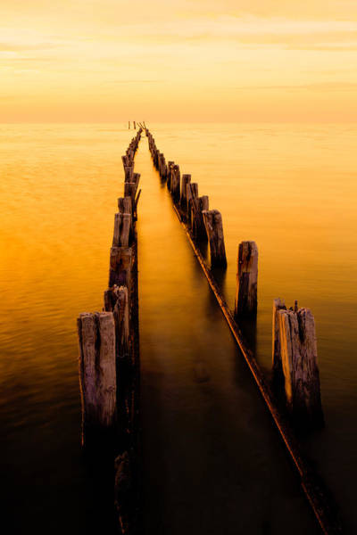 Great Lakes Photograph - Remnants by Chad Dutson