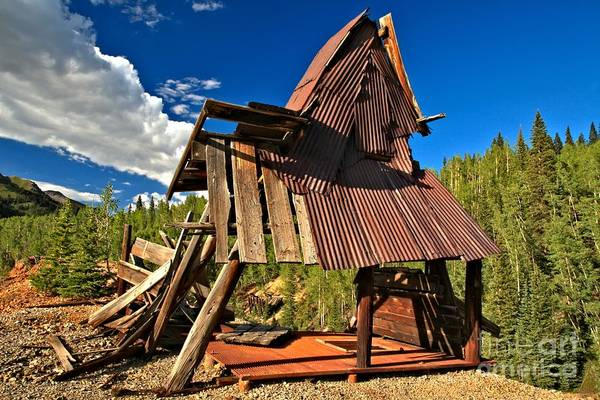 Photograph - Remnants Of The Colorado Gold Rush by Adam Jewell