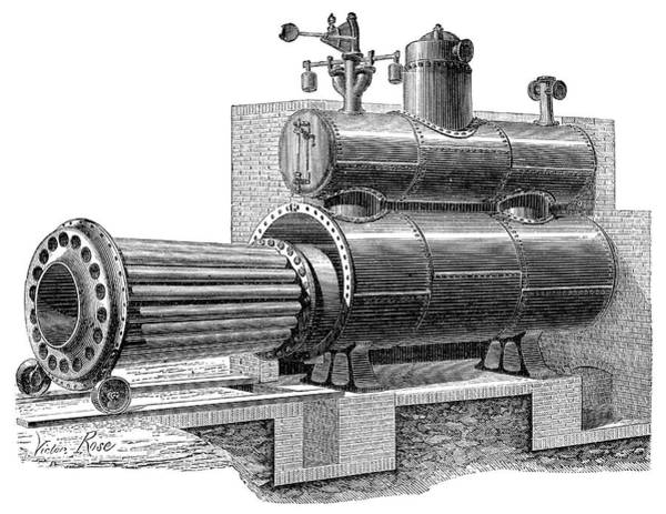 Boiler Photograph - Removable-furnace Boiler by Science Photo Library