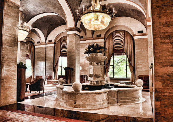 Photograph - Renaissance Cleveland Hotel - 1 by Mark Madere