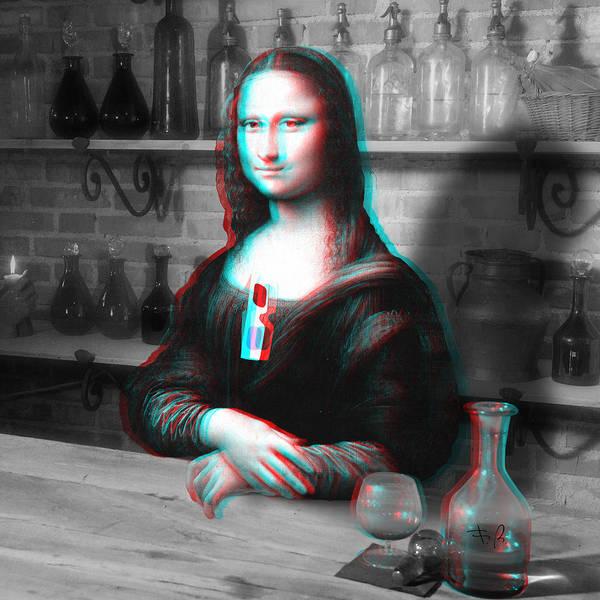 Mona Lisa Wall Art - Digital Art - Renaissance's Altered States by Filippo B