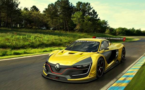 Photograph - Renault Sport  by Movie Poster Prints