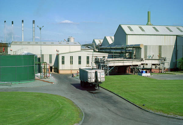 Trailer Photograph - Rendering Plant by Robert Brook/science Photo Library