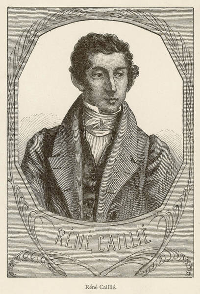 Wall Art - Drawing - Rene-auguste Caillie  French Explorer by Mary Evans Picture Library
