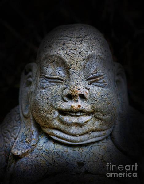 Wall Art - Photograph - Qieci The Fat Budai - Fat Buddha by Lee Dos Santos