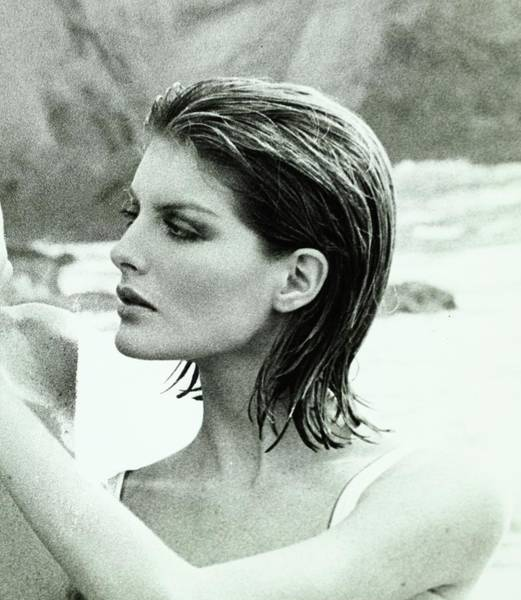 Hair Stylist Wall Art - Photograph - Rene Russo With Hair Done By Harry King by Francesco Scavullo