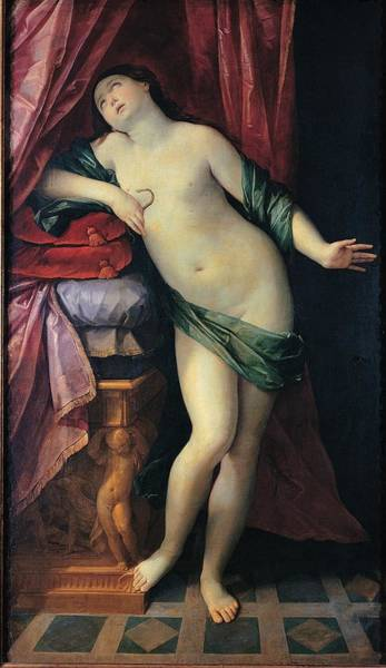 Asps Photograph - Reni Guido, The Suicide Of Cleopatra by Everett