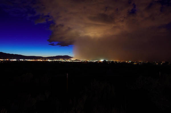 Photograph - Reno Haboob  by Scott McGuire