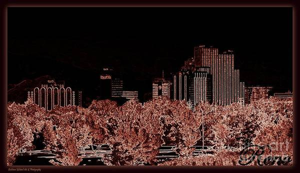 Harrahs Photograph - Reno Night Life by Bobbee Rickard