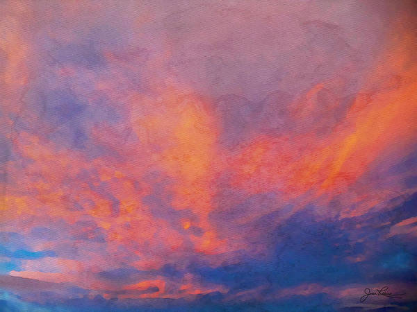 Painting - Reno Sunrise by Joan Reese