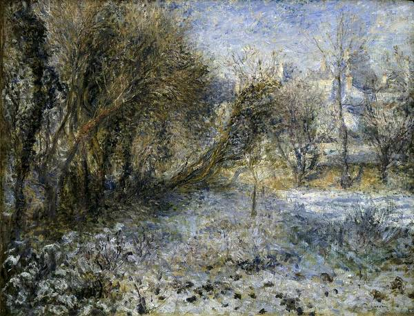Paysage Photograph - Renoir, Pierre-auguste 1841-1919. Snowy by Everett