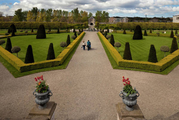 County Dublin Photograph - Renovated Formal Gardens At The Museum by Panoramic Images