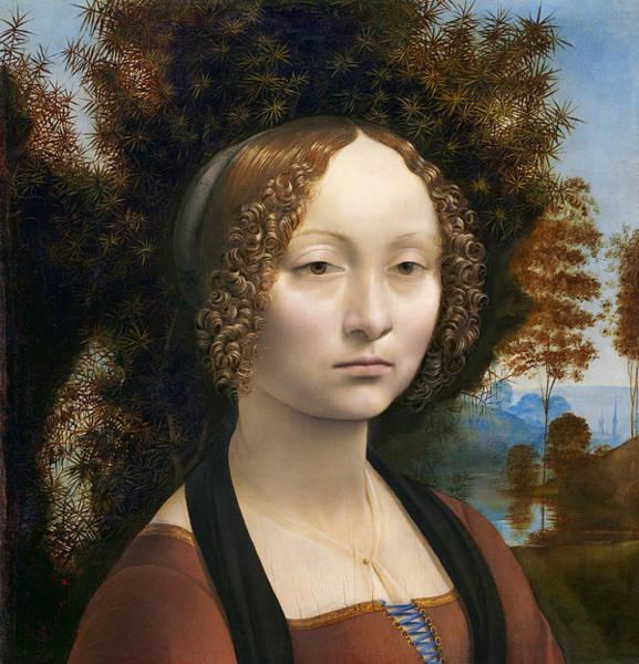 Wall Art - Photograph - Da Vinci Beauty Ginevra De Benci 1474 by Daniel Hagerman