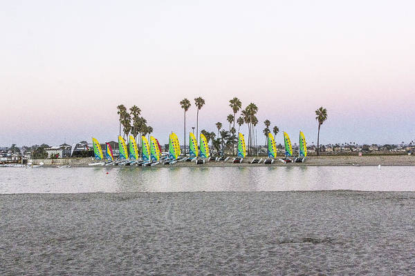 Digital Art - Rental Sailboats by Photographic Art by Russel Ray Photos
