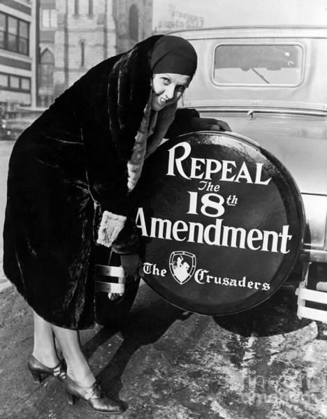 Alcohol Photograph - Repeal The 18th Amendment by Jon Neidert