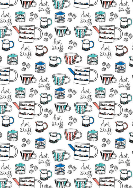 Wall Art - Photograph - Repeat Print - Swedish Tea Party by MGL Meiklejohn Graphics Licensing