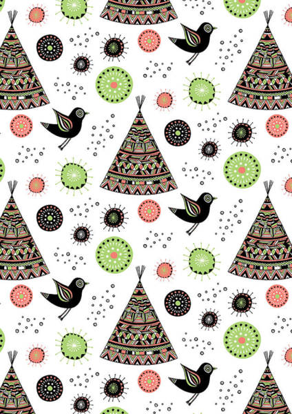 Cute Photograph - Repeat Print - Wild Night by MGL Meiklejohn Graphics Licensing