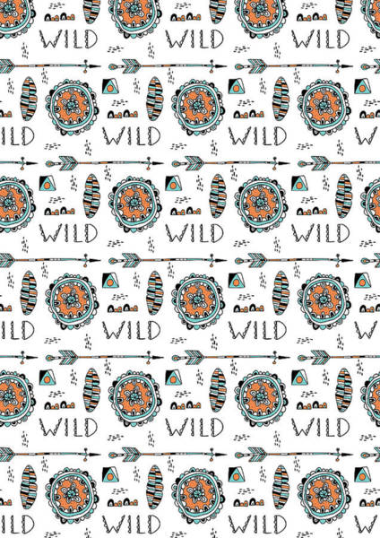 Cute Photograph - Repeat Print - Wild by MGL Meiklejohn Graphics Licensing