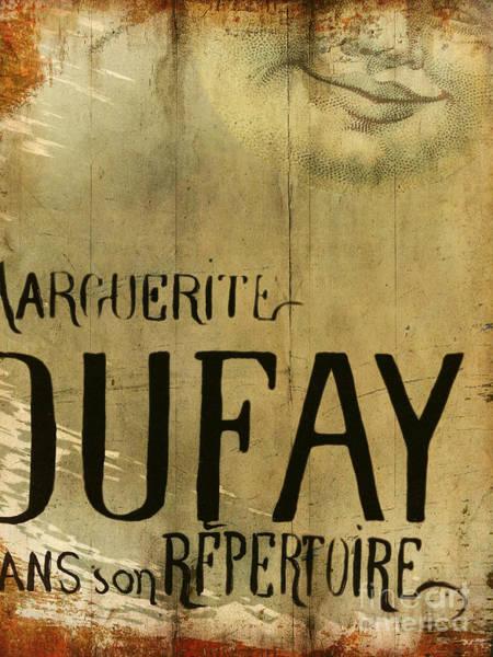 Retro Paris Painting - Repertoire by Cinema Photography