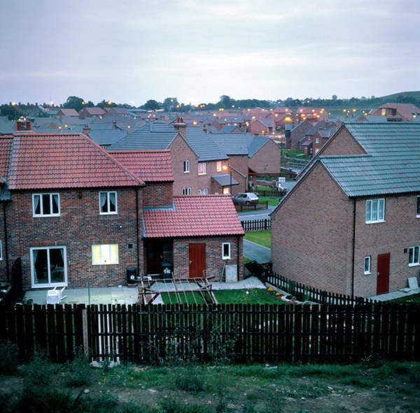 Flammable Photograph - Replacement Town by Robert Brook/science Photo Library