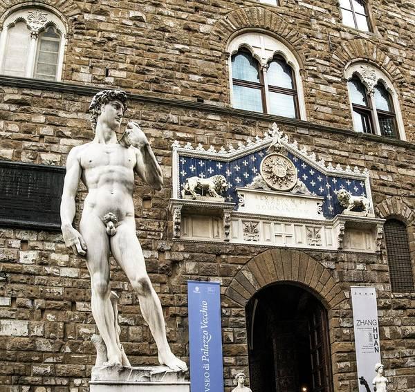 Goliath Photograph - Replica Of Michelangelo's David by Brian Gadsby