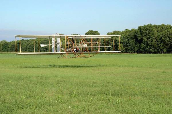 Flyers Photograph - Replica Wright Flyer by National Park Service/us Department Of Energy
