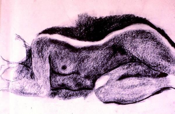 Drawing - Repose Sketch by Kendall Kessler