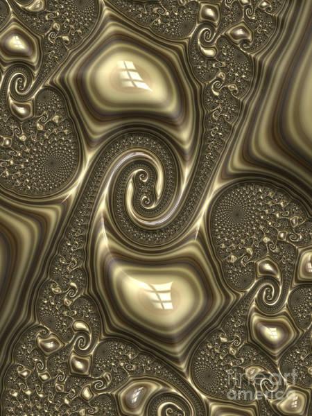 Emboss Wall Art - Digital Art - Repousse In Bronze by John Edwards