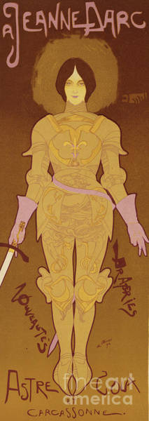 Armor Drawing - Reproduction Of A Poster Advertising by Georges de Feure