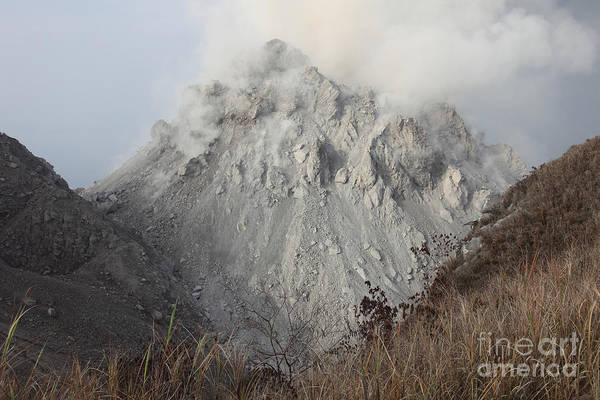 Photograph - Rerombola Lava Dome Of Paluweh Volcano by Richard Roscoe