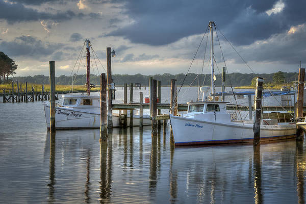 Photograph - Rescue Fishing Boats by Williams-Cairns Photography LLC