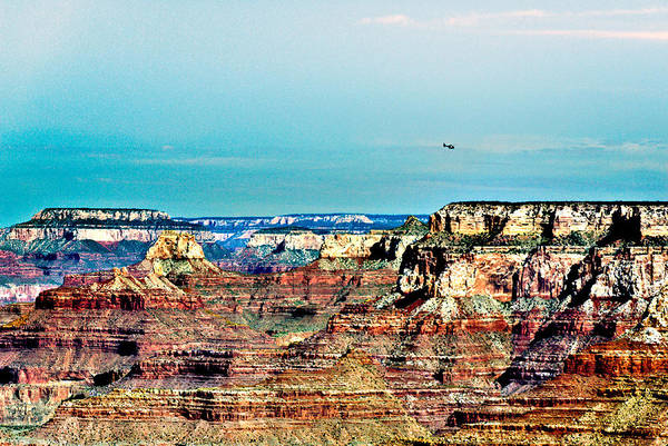 Photograph - Rescue Lipan Point  Grand Canyon by Bob and Nadine Johnston