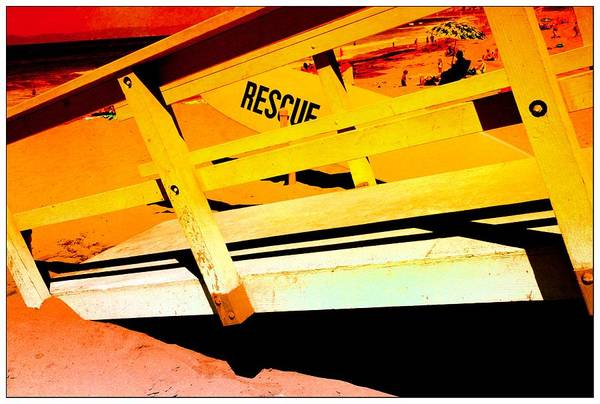 Photograph - Rescue On The Beach by Michael Hope