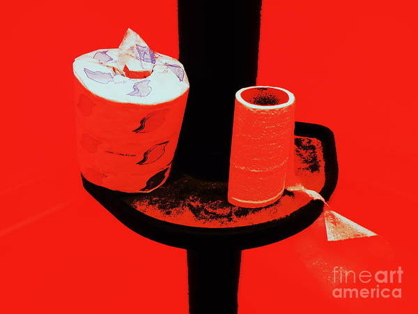 Toilet Paper Photograph - Reserve Blend by Joe Pratt