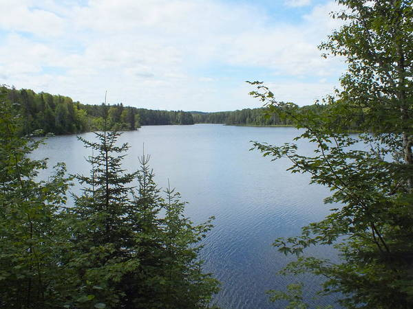Aroostook County Photograph - Reservoir 4 by Gene Cyr