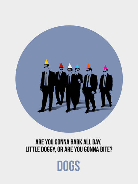 Wall Art - Painting - Reservoir Dogs Poster  by Naxart Studio
