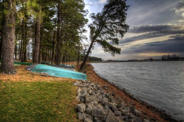 Photograph - Reservoir Shoreline by David Dufresne