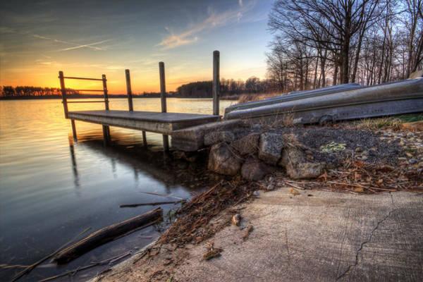 Photograph - Reservoir Sunset by David Dufresne