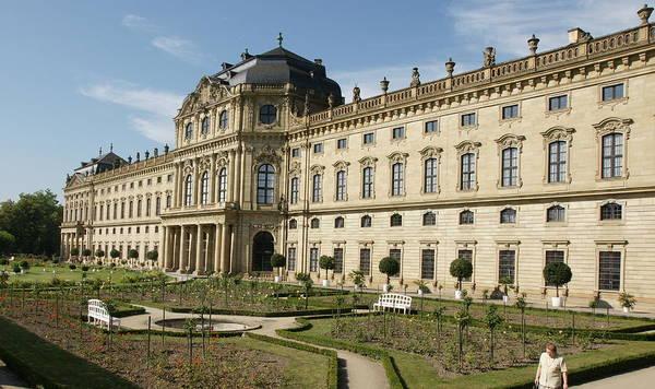 Residenz Wurzburg Art Print