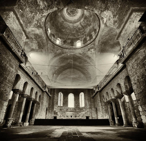 Istanbul Photograph - Resilient - Hagia Irene by Stephen Stookey