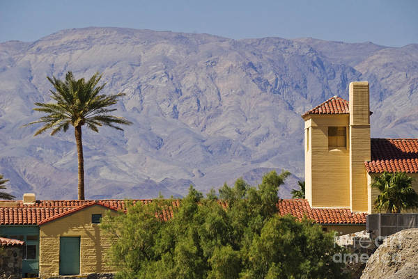 Furnace Creek Photograph - Resort, Death Valley, Ca by Richard and Ellen Thane