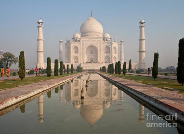 Taj Mahal Photograph - Resplendent Taj Mahal by Mike Reid