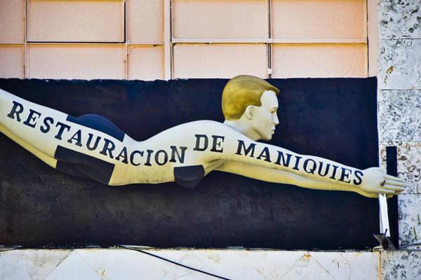 Photograph - Restauracion De Maniquies by Skip Hunt