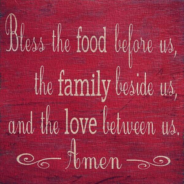 Wall Art - Photograph - Restaurant Blessing In Red by Dan Sproul