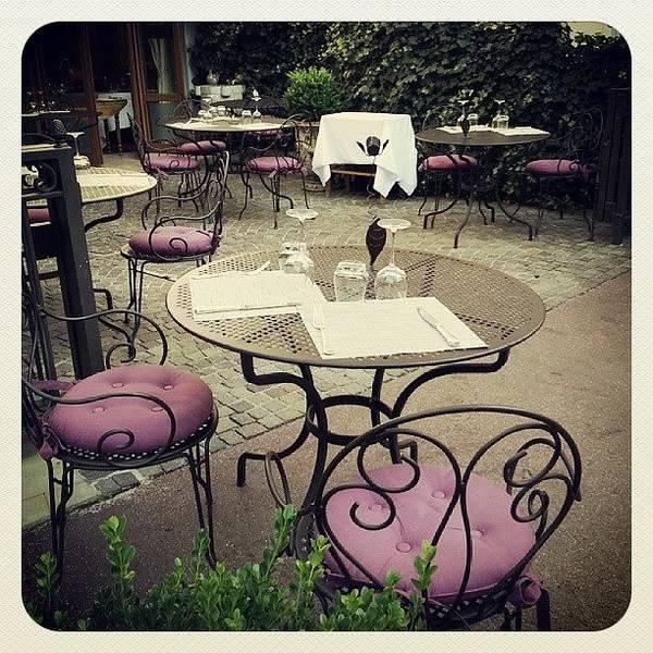 Romantic Wall Art - Photograph - Restaurant Francais by Barbara Orenya
