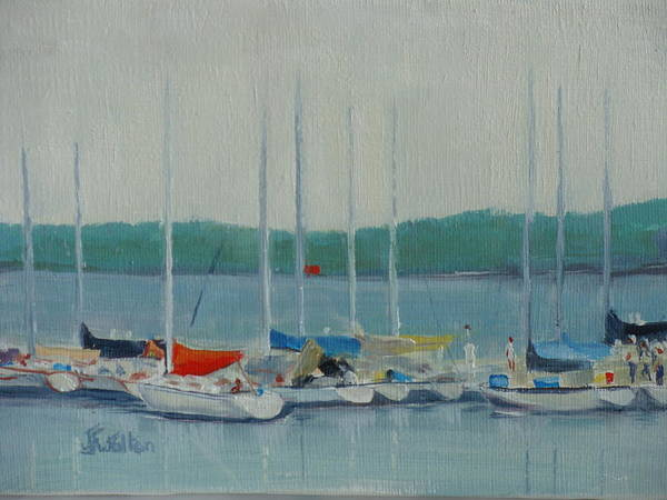 Painting - Resting by Judy Fischer Walton