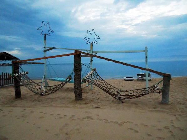 Photograph - Resting Time On Beach Sinai Egypt by Colette V Hera  Guggenheim