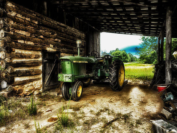 Tractor Photograph - Resting Until The Next Time by Mountain Dreams